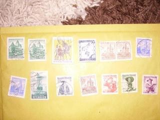 Zahlreiche Briefmarken + Ersttagsbriefe Pict0422