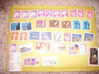 Zahlreiche Briefmarken + Ersttagsbriefe Pict0423