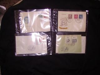Zahlreiche Briefmarken + Ersttagsbriefe Pict0519