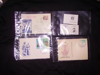 Zahlreiche Briefmarken + Ersttagsbriefe Pict0521