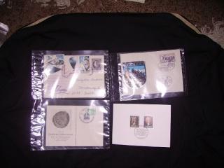 Zahlreiche Briefmarken + Ersttagsbriefe Pict0522
