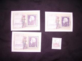Zahlreiche Briefmarken + Ersttagsbriefe Pict0523