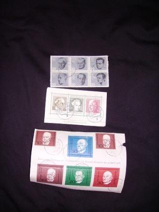 Zahlreiche Briefmarken + Ersttagsbriefe Pict0528