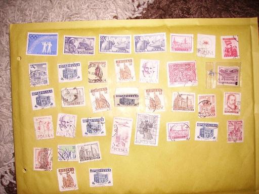 Zahlreiche Briefmarken + Ersttagsbriefe Polska10