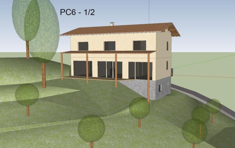 Maison bioclimatique GREB à Aulas (30) Pc6a11