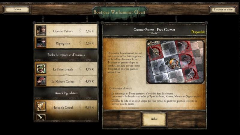 Critique du jeu PC Warham12