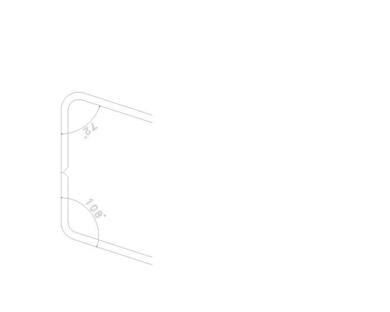 Pliage tôle alu 10mm Pliage16