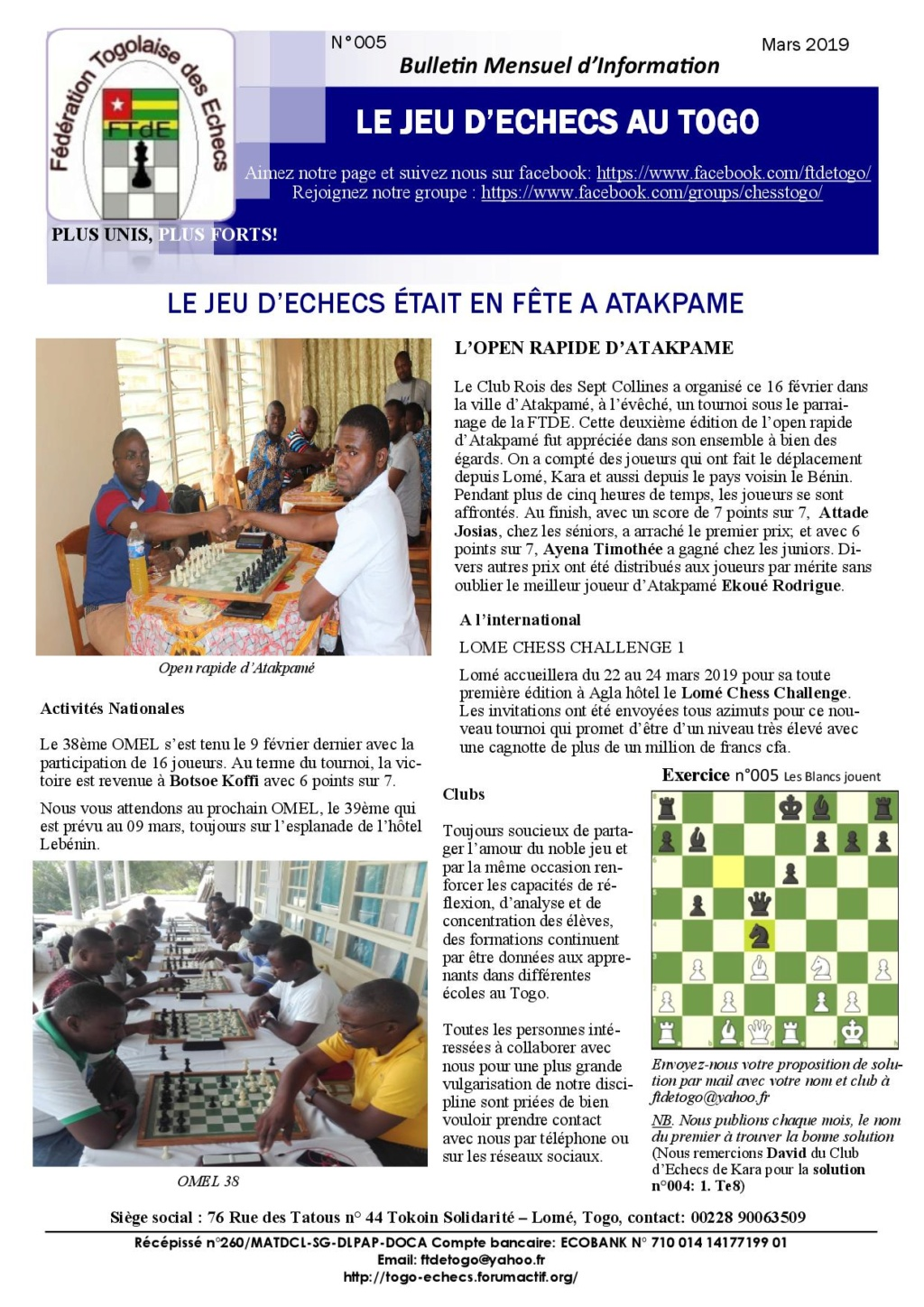 Le Bulletin Mensuel d'Information n° 005 mars 2019 Bmi_ft13