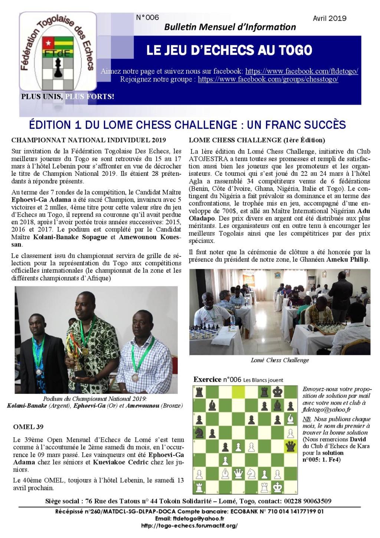Le Bulletin Mensuel d'Information n° 006 avr 2019 Bmi_ft14