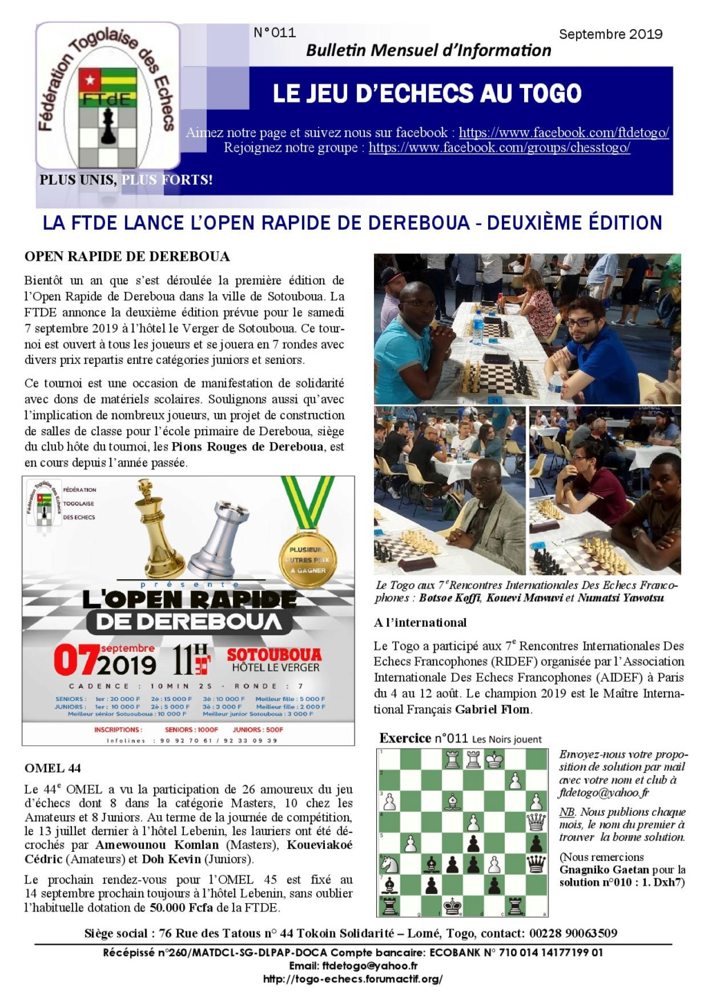Le Bulletin Mensuel d'Information n° 011 sept 2019 Bmi_ft19