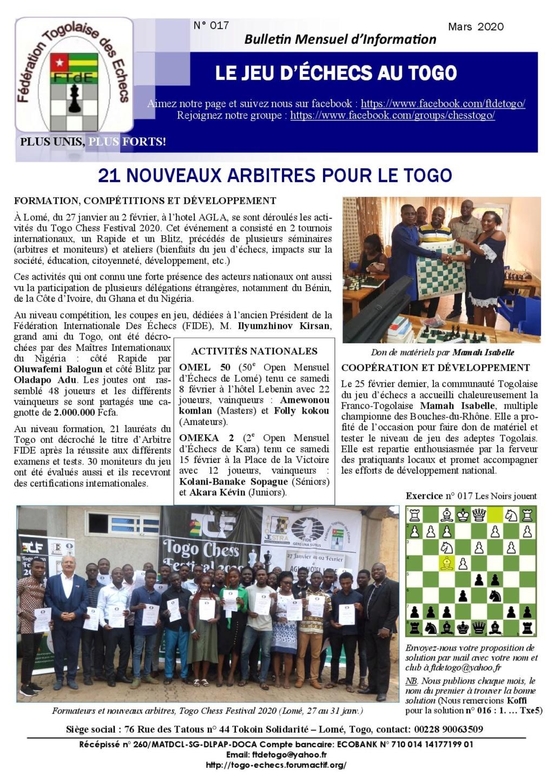 Le Bulletin Mensuel d'Information n° 017 mars 2020 Bmi_ft25