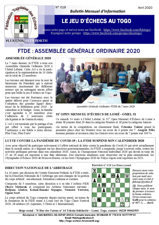Le Bulletin Mensuel d'Information n° 018 avr 2020 Bmi_ft26