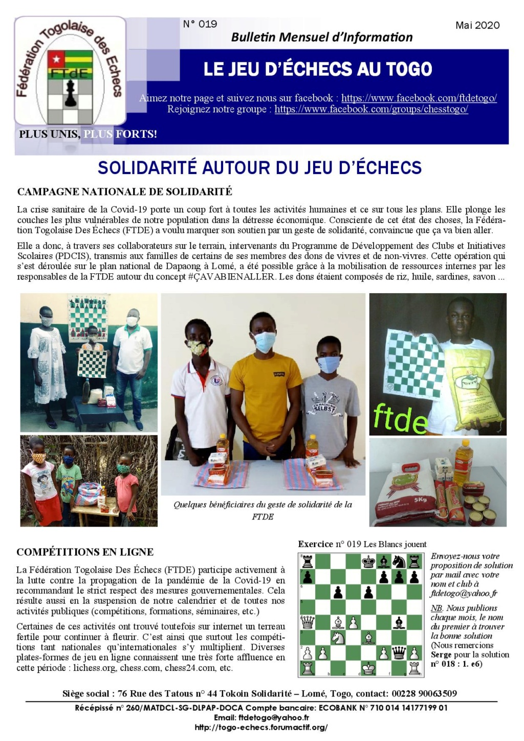 Le Bulletin Mensuel d'Information n° 019 mai 2020 Bmi_ft27