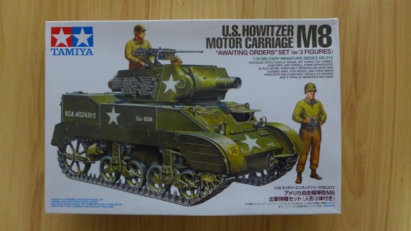 U.S. Howitzer Motor Carriage M8 von Tamiya P1030526