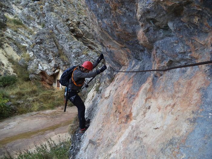 Vía Ferrata: sábado 17 de enero 2015 - Pasarela de Espeja (Soria) 28536210