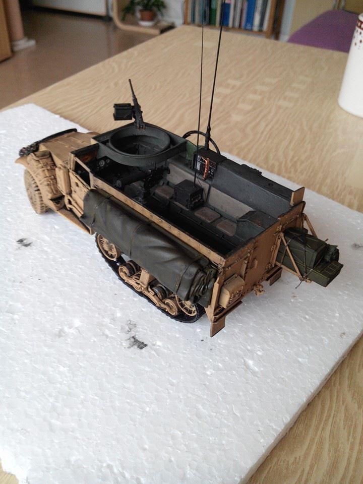 restauration half track us M4.kit tamyia 1/35.annee 1990. 10364010