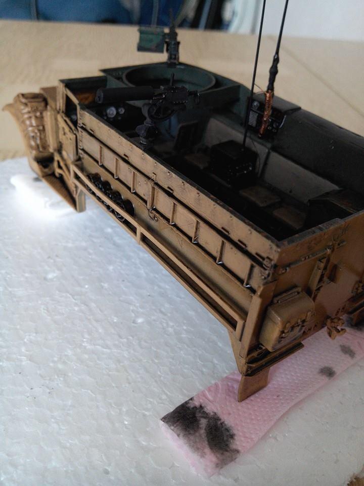 restauration half track us M4.kit tamyia 1/35.annee 1990. 10384812