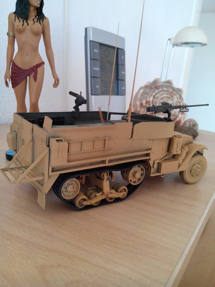 restauration half track us M4.kit tamyia 1/35.annee 1990. 16884810