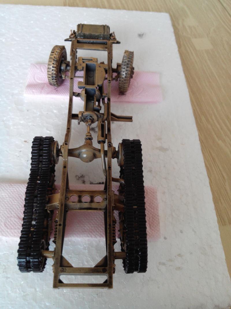 restauration half track us M4.kit tamyia 1/35.annee 1990. Img_2010