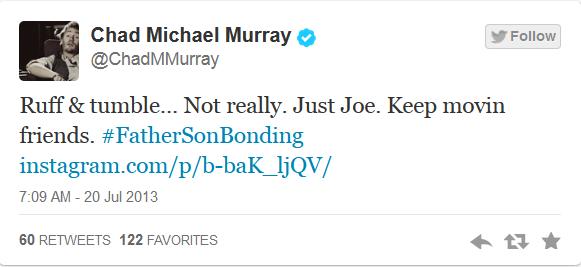 Chad Michael Murray Twitts 110