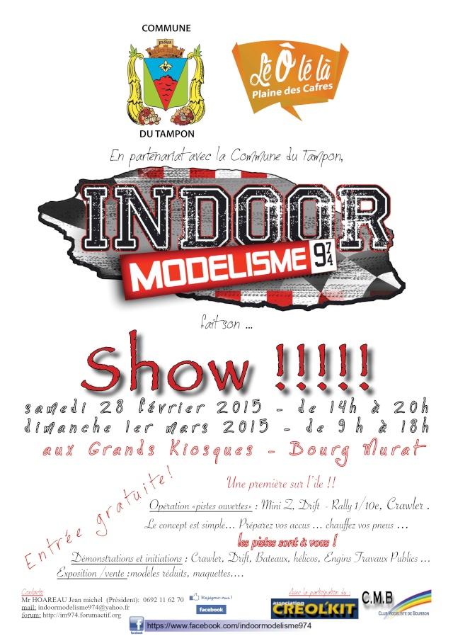 Indoor Modélisme Show - 28 Février au 1er Mars 2015 Affich18
