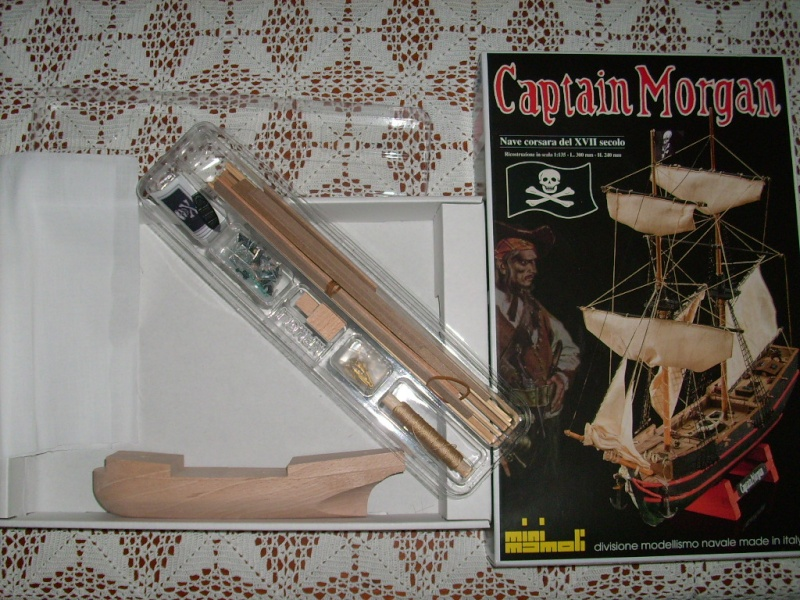 Capitan Morgan - Mini Mamoli 1:135 Img_0911
