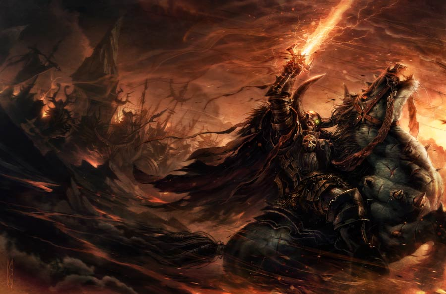 Archaon: Lord of Chaos de Rob Sanders Archao11