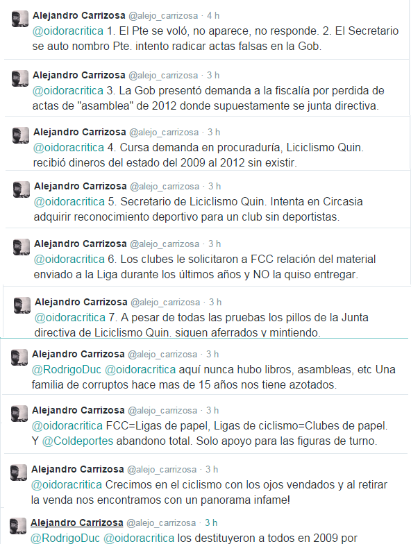 Contra la mala dirigencia en Colombia (Federación, Ligas, Clubes, etc) Liquin11