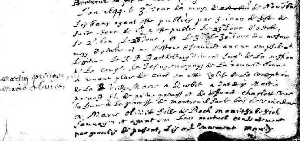 Les Descendants de Martin Prévost et de  Marie Olivier Manitouabewich 16785310