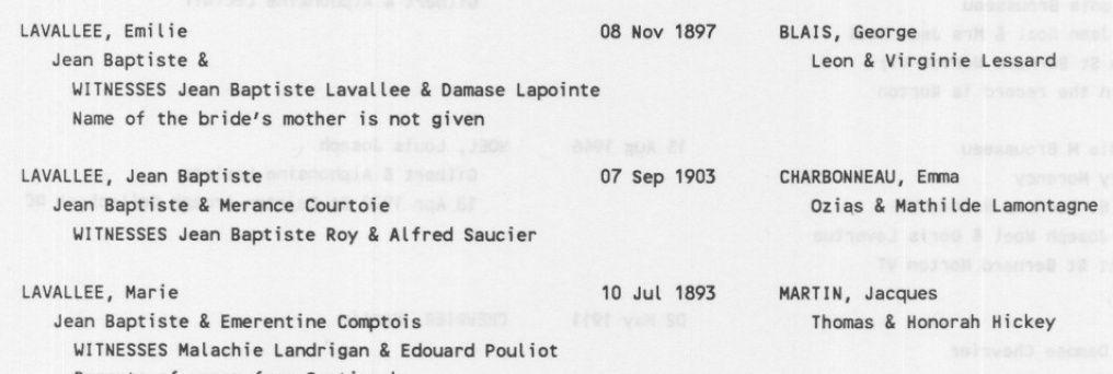 Joseph Paquette et Evelina Brodeur - Page 2 Lavall10