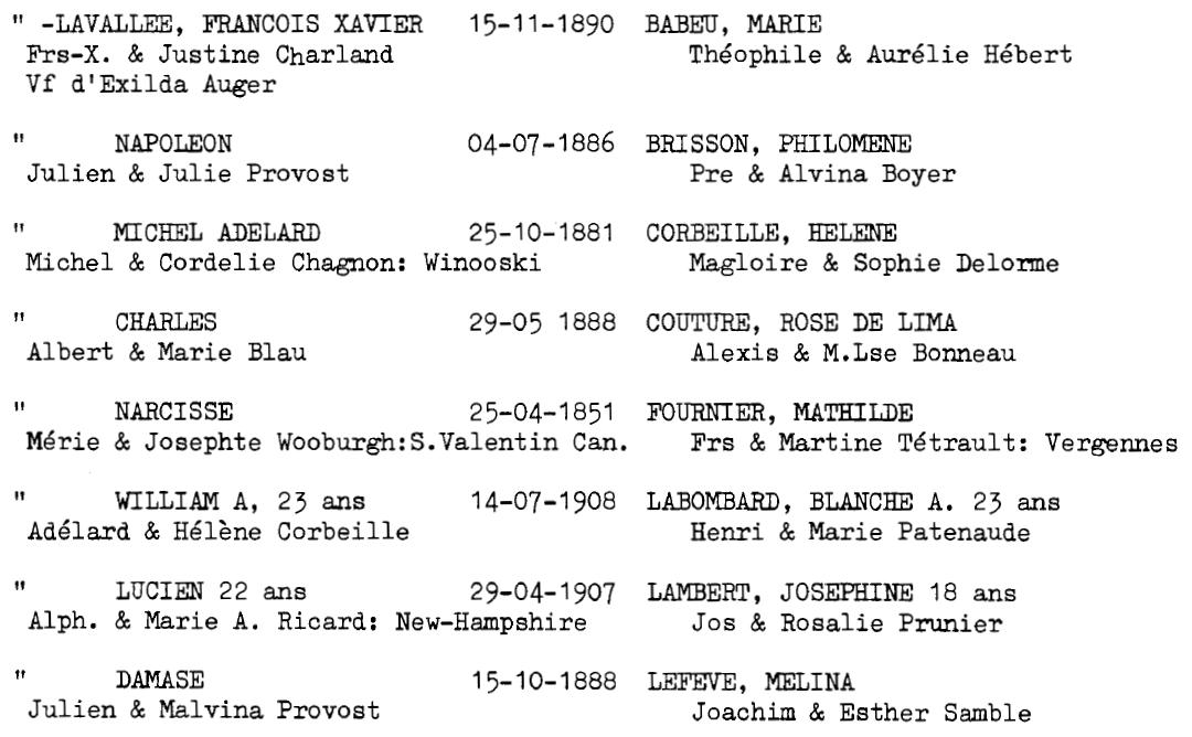 Joseph Paquette et Evelina Brodeur - Page 2 Lavall15