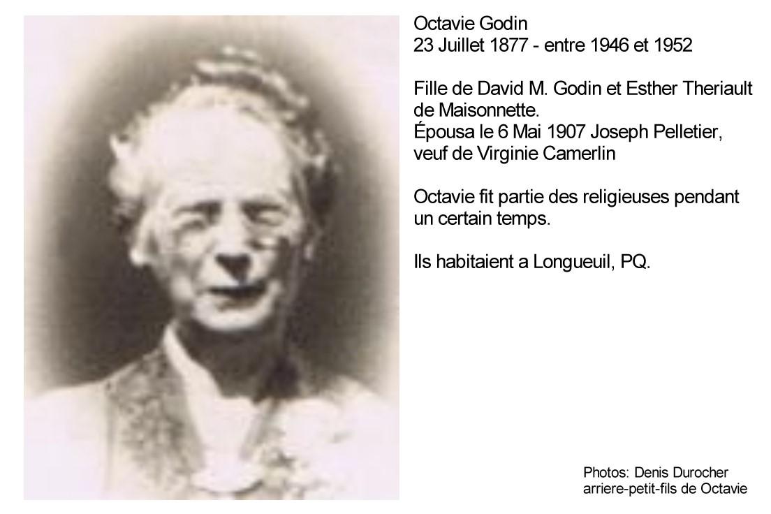 Ascendance de Joseph Pelletier époux d'Octavie Godin  Octavi10