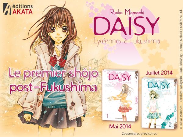 [MANGA] Daisy - Lycéennes à Fukushima Annonc10