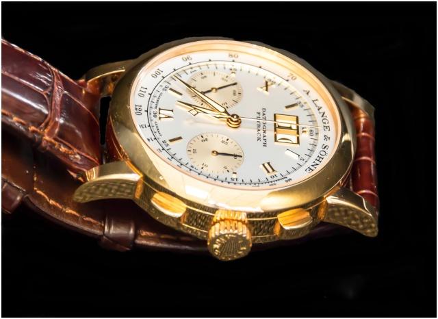 Vos plus belles montres habillées en or rose ou jaune - Page 3 Dato411