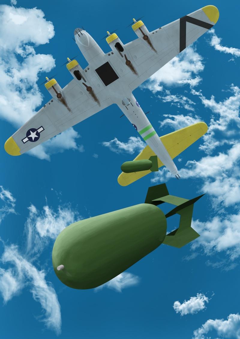 Bombardement Dessin11
