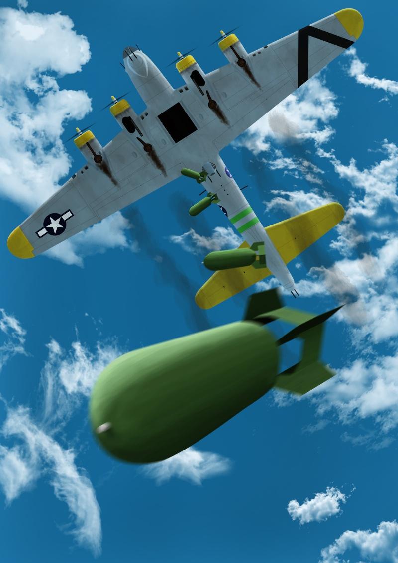 Bombardement Dessin13