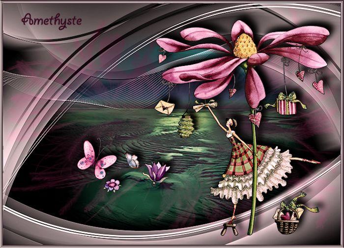 Les cadeaux poussent sur les fleurs Fini27