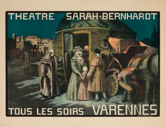 Sarah Bernhardt en Marie-Antoinette 10171110