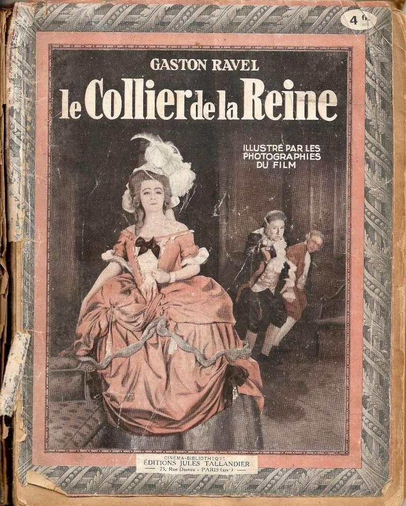 Film : Le collier de la reine par Gaston Ravel et Tony Lekain (1929) Numari10