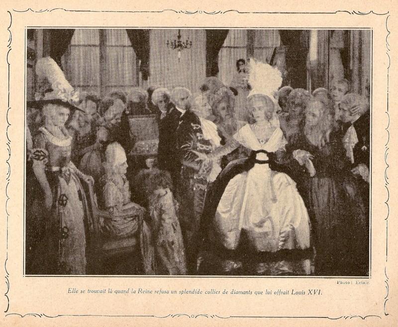 Film : Le collier de la reine par Gaston Ravel et Tony Lekain (1929) Numari12
