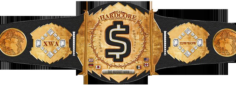 Real XWA Hardcore Championship Belt2m11