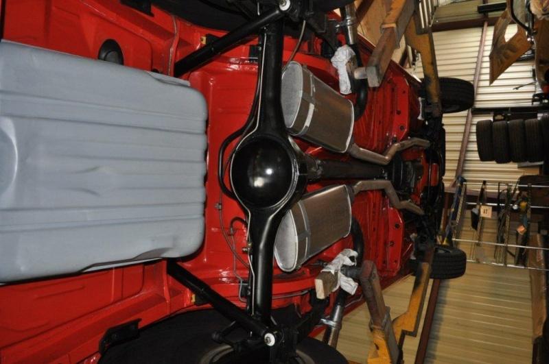 Mustang side exhaust hangers. 1970_c10