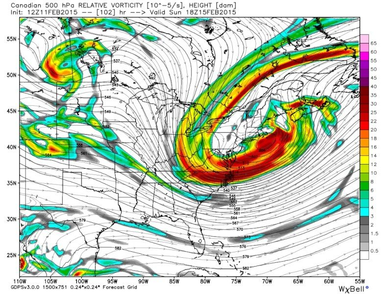 FEB 14th-15th STORM POTENTIAL - Page 2 Cmc_z514