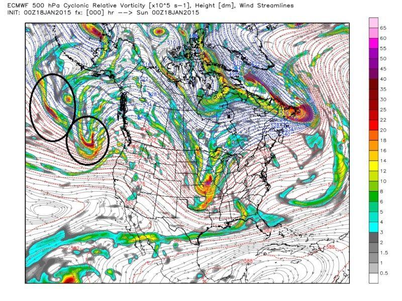 Wednesday, Jan. 21st Clipper Storm Ecmwf_14