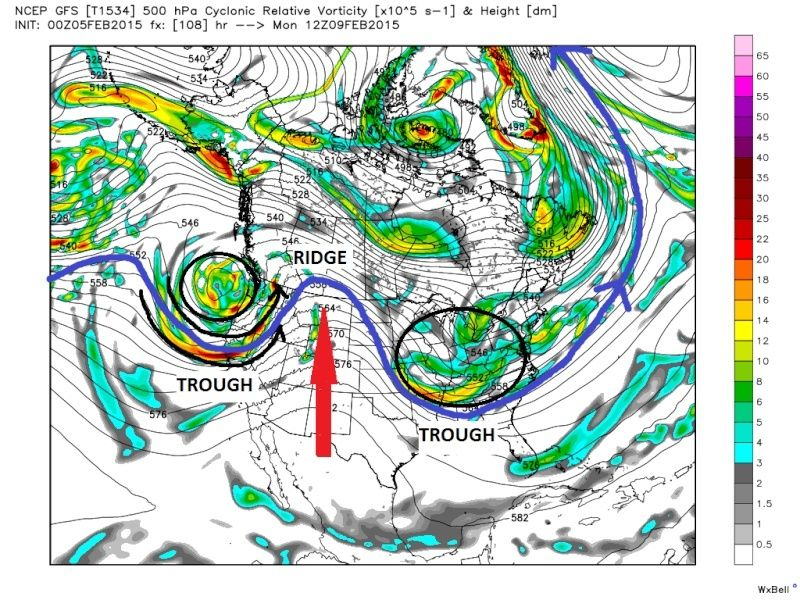 UPDATE #1: SUNDAY FEB 8TH-TUESDAY FEB 10TH STORM POTENTIAL Gfs_z513