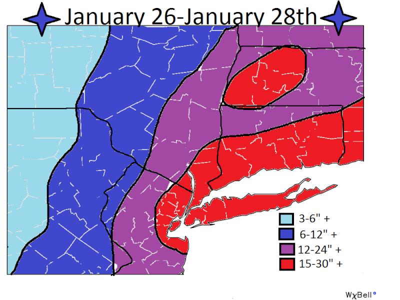 SNOW MAPS ONLY:  MON JAN 26TH - JAN 27TH Snow_m10
