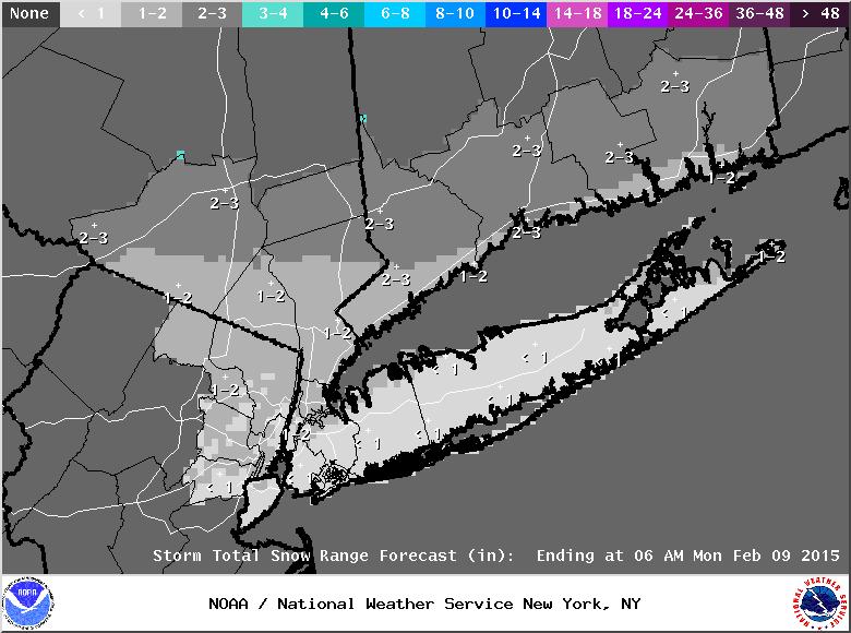 UPDATE #2: 1st Call Snow Map, N&W Wins Again Stormt10
