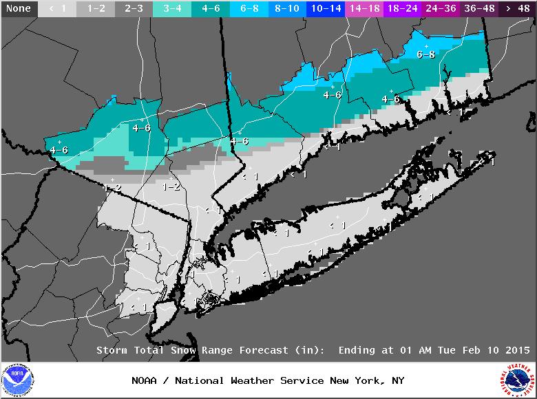 UPDATE #2: 1st Call Snow Map, N&W Wins Again Stormt11