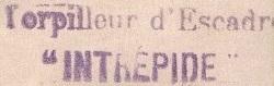 * INTREPIDE (1914/1938) * 146_0010