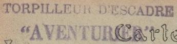 * AVENTURIER (1914/1938) * 20-0210